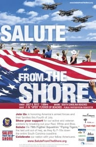 Salute from the Shore III  (11x17 Poster)