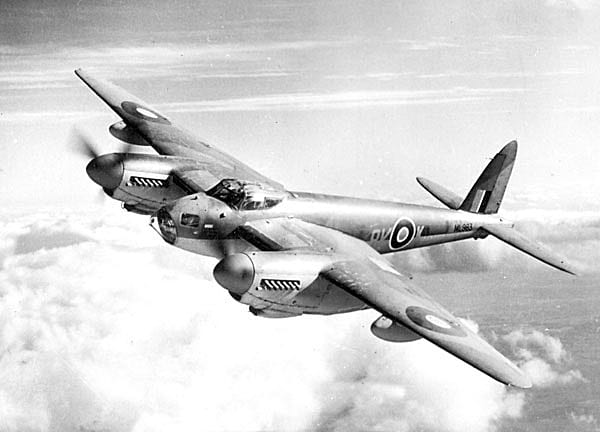Mosquito Aircraft used during WWII.