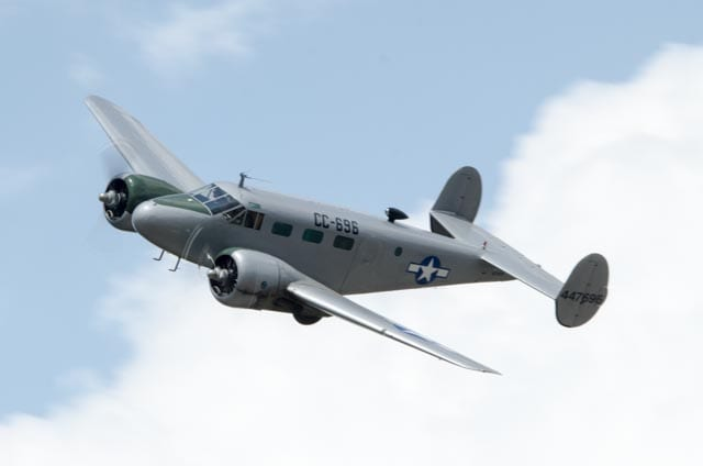 Air Force C-45