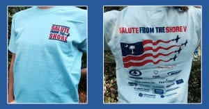 Salute-from the Shore 5 T-Shirts