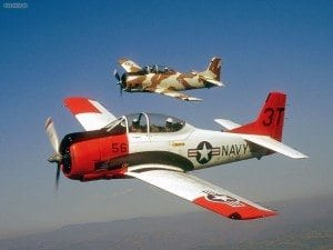 Salute from the Shore T-28