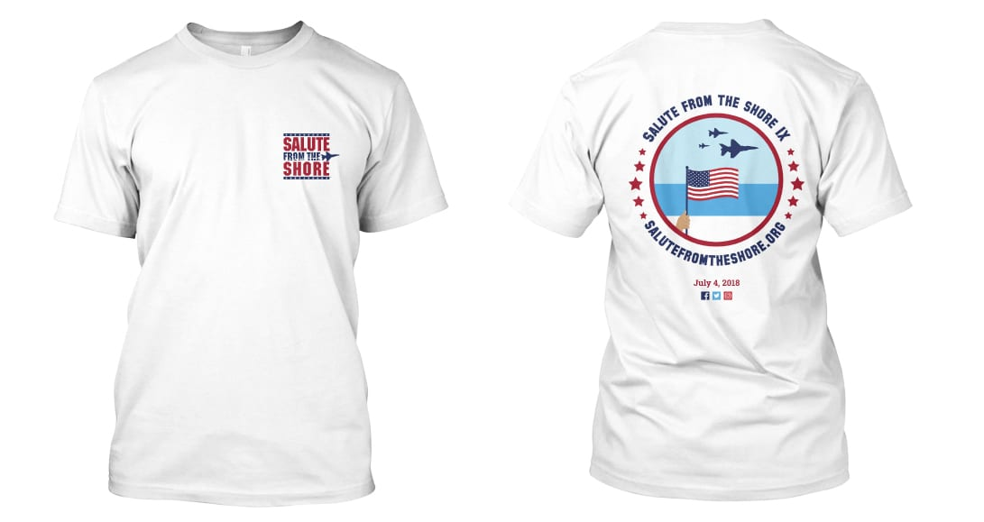 Salute from the Shore TShirt