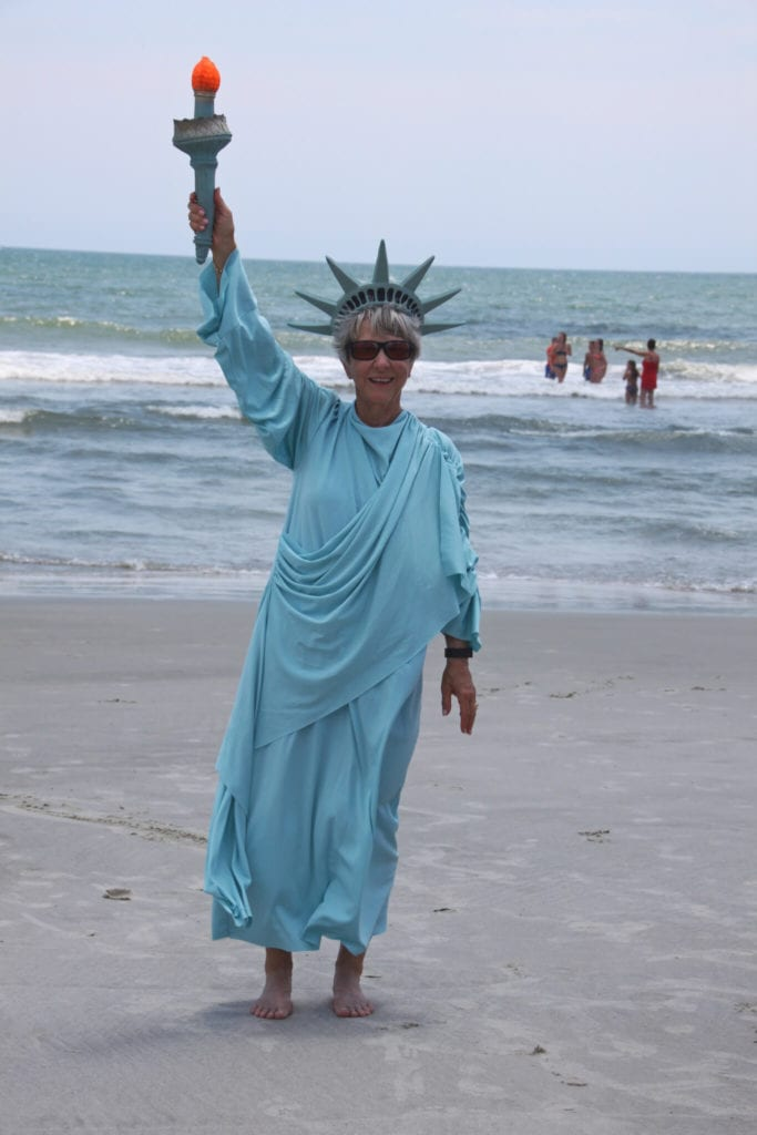 Karen Rieker Litchfield lady liberty
