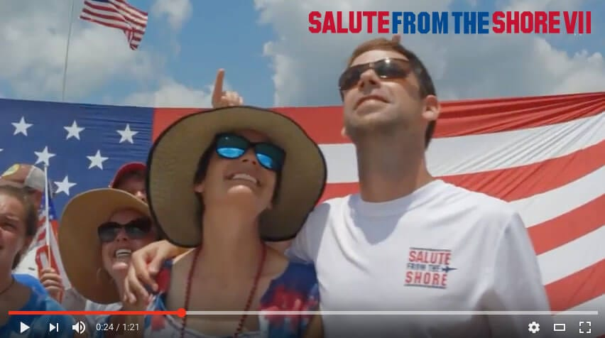 2016 Salute from the Shore