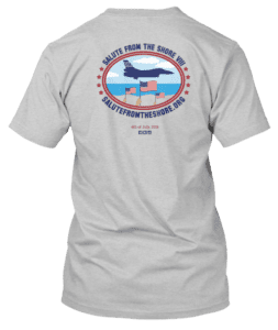 Salute From the Shore 2017 TShirt