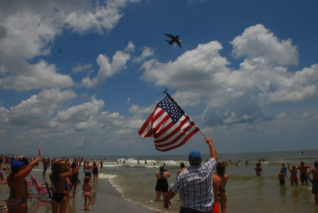 salute big flag