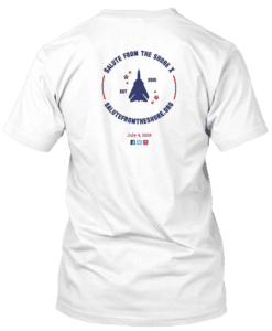 2019 Salute from the Shore Tshirt